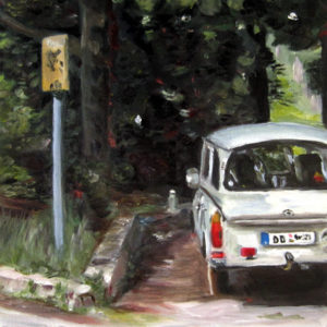 Trabbi in Dresden