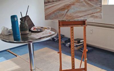 Das Atelier mal woanders…