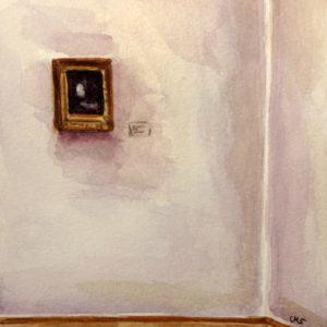 Kleines Gemälde im Albertinum