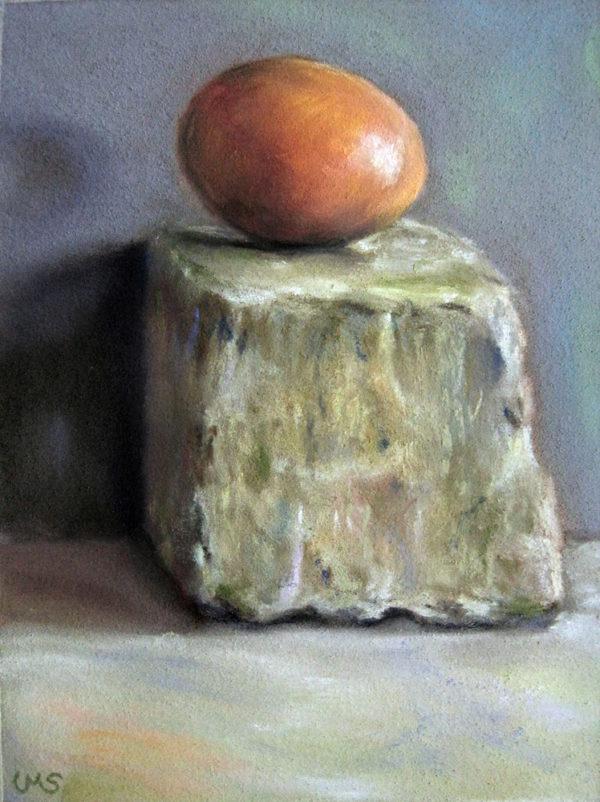 Ei auf Stein