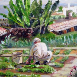 Gärtner auf Madeira