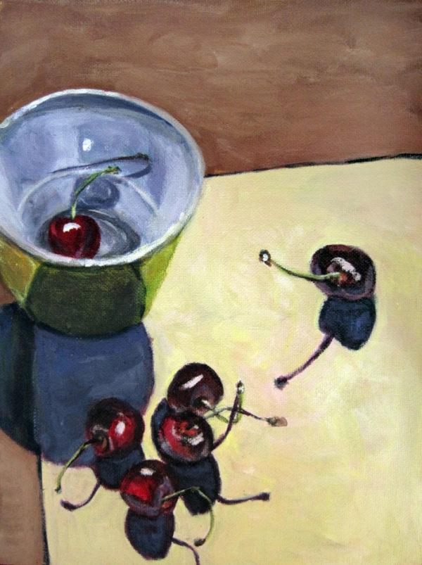 Kirsche mit Schale