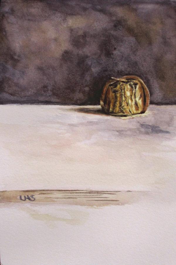 goldene Praline