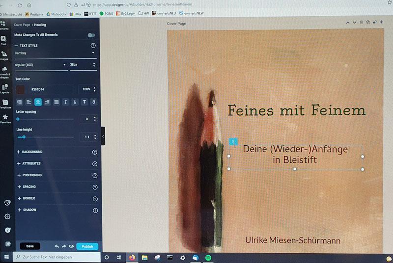 Erstes E-Book
